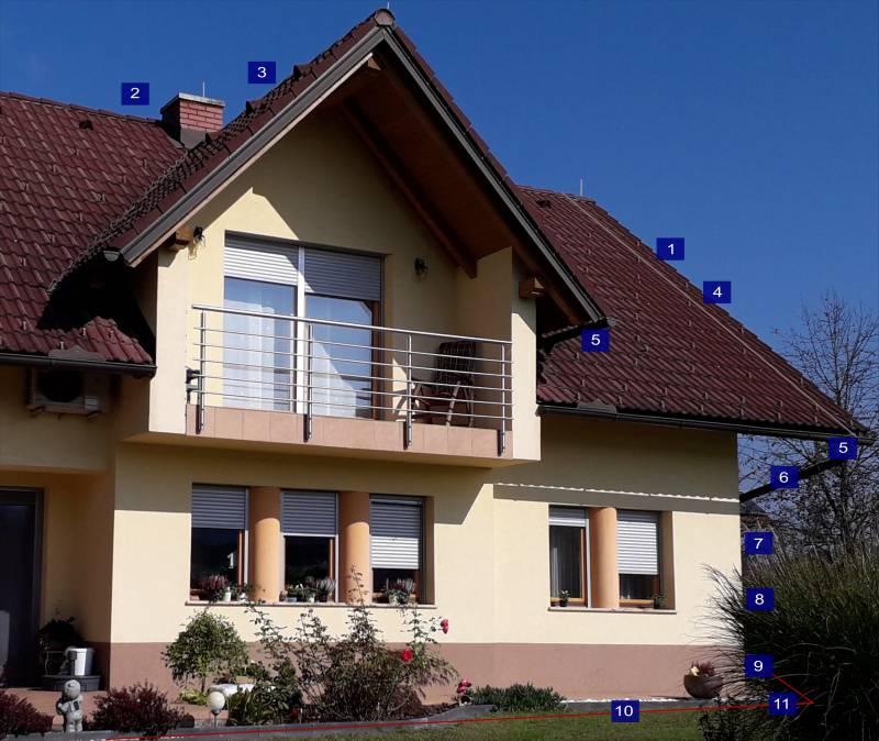 zunanja zaščita družinska hiša